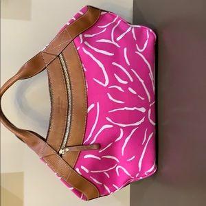 Kate Spade Pink / White Bag